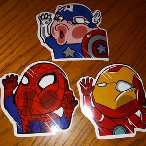 Other - Bundle of 3 stickers